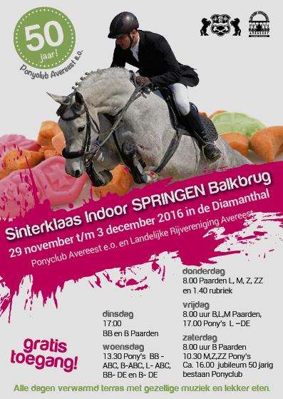 Sinterklaas Indoorspringen Te Balkbrug